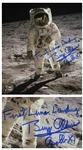 Buzz Aldrin 8 x 10 Photo Signed First Lunar Landing / Buzz Aldrin / Apollo XI -- With Steve Zarelli COA