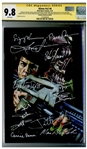 Aliens Cast-Signed Comic #4, Graded 9.8 -- Signed by 12 Key Cast Members Including Sigourney Weaver and Bill Paxton