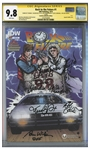 Back to the Future Cast-Signed Comic #1, Graded 9.8 -- Signed by 6 Cast Members Including Michael J. Fox and Christopher Lloyd