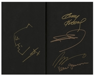 Frank Miller Hand-Drawn & Signed Batman Sketch -- Within Book Four of The Dark Knight III: The Master Race