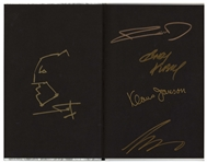 Frank Miller Hand-Drawn & Signed Batman Sketch -- Within Book Seven of The Dark Knight III: The Master Race