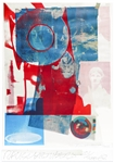 Robert Rauschenberg Signed Limited Edition Lithograph of Quarry