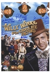 Willy Wonka Cast-Signed 12 x 17 Photo -- With PSA/DNA COA for All Six Signatures