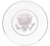 White House Service Plate From the Barack Obama Administration -- For the White House Mess