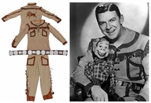 Buffalo Bob Smith Screen-Worn Howdy Doody Costume -- Also Worn for Cover of TV Guide in 1954