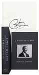 Barack Obama Signed Deluxe First Edition of A Promised Land