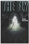 The Fly Cast-Signed Movie Poster