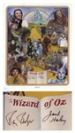 Wizard of Oz Limited Edition Poster Signed by Jack Haley and Ray Bolger