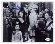 James Stewart Signed 10 x 8 Photo From Its a Wonderful Life -- With JSA COA