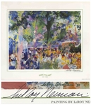 LeRoy Neiman Signed Tavern on the Green Poster