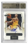Stephen Curry Signed 2009 Panini Classics Rookie Card #166 -- Graded BGS Gem Mint 9.5 & 10 for Autograph
