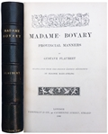 First English Edition of Madame Bovary by Gustave Flaubert From 1886