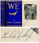 Charles Lindbergh Signed First Edition of We
