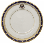 Franklin D. Roosevelt White House Bread Plate From the 1934 Order