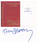 Ray Bradbury Signed Deluxe Edition The Martian Chronicles