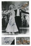 Fred Astaire and Ginger Rogers Signed 8 x 10 Photo From Top Hat -- With JSA COA