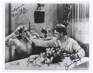 James Cagney and Mae Clarke Signed 10 x 8 Photo From The Public Enemy of the Notorious Grapefruit Scene -- With PSA/DNA COA
