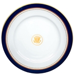 Ronald Reagan White House China Service Plate -- Near Fine Condition