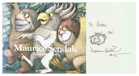 Original Wild Things Drawing by Maurice Sendak -- Within The Art of Maurice Sendak Coffee Table Book