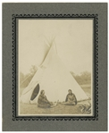 19th Century Cabinet Photo of Two Native American Women