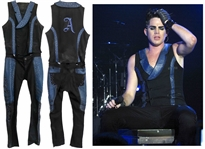 Adam Lambert Stage-Worn Two-Piece Costume -- Worn During His Glam Nation Tour