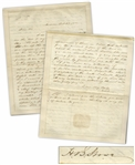 Superb Harriet Beecher Stowe Autograph Letter Signed Regarding Slavery -- ...Nothing more is needed than to awaken the attention of the public to an expose of the slave law system...