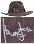 Harrison Ford Signed Indiana Jones Fedora -- With Beckett COA
