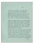 Hunter Thompson Letter From 1966 on the Vietnam War -- ...These swine in Congress are serious when they talk about Total War. I think maybe drugs are the only answer...