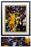 Kobe Bryant Signed 16 x 20 Limited Edition Photo, Commemorating the Lakers Back to Back Championships in 2000-2001 -- With Upper Deck Authentication