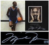 Michael Jordan Signed Copy of His Autobiography For the Love of the Game -- With Upper Deck COA