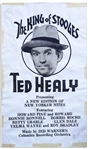 Very Rare Three Stooges Poster Circa 1932, Featuring Ted Healy as The King of Stooges