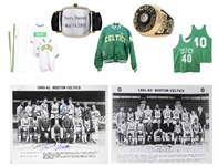 Terry Duerod Personally Owned Boston Celtics Items -- Including Duerods 1981 NBA Championship Ring