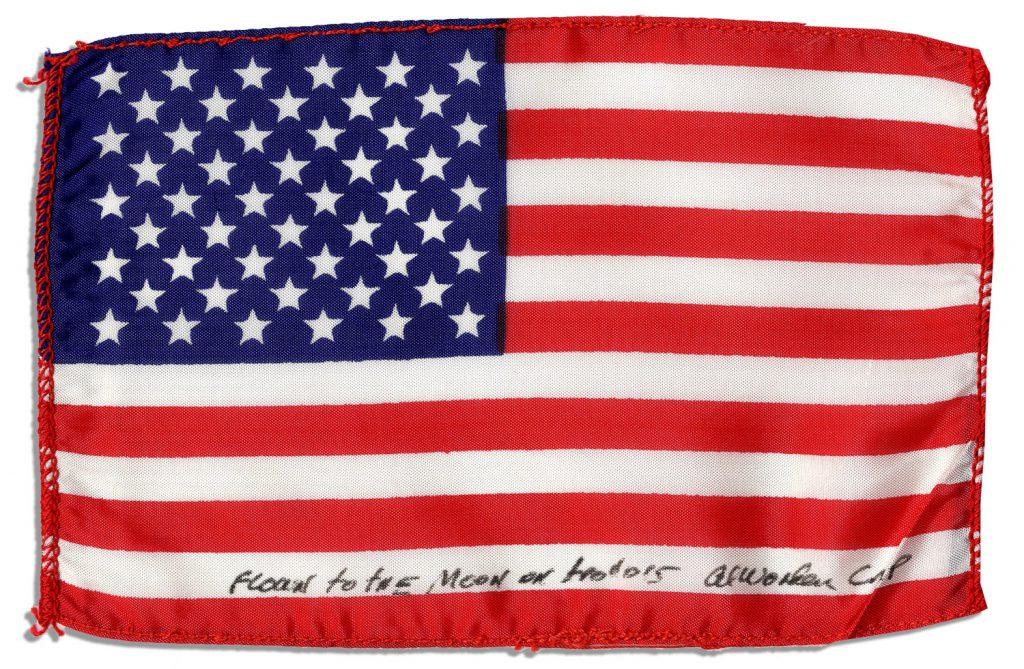 Apollo 15 Flown Flag