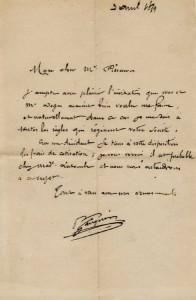 Paul Gauguin autograph