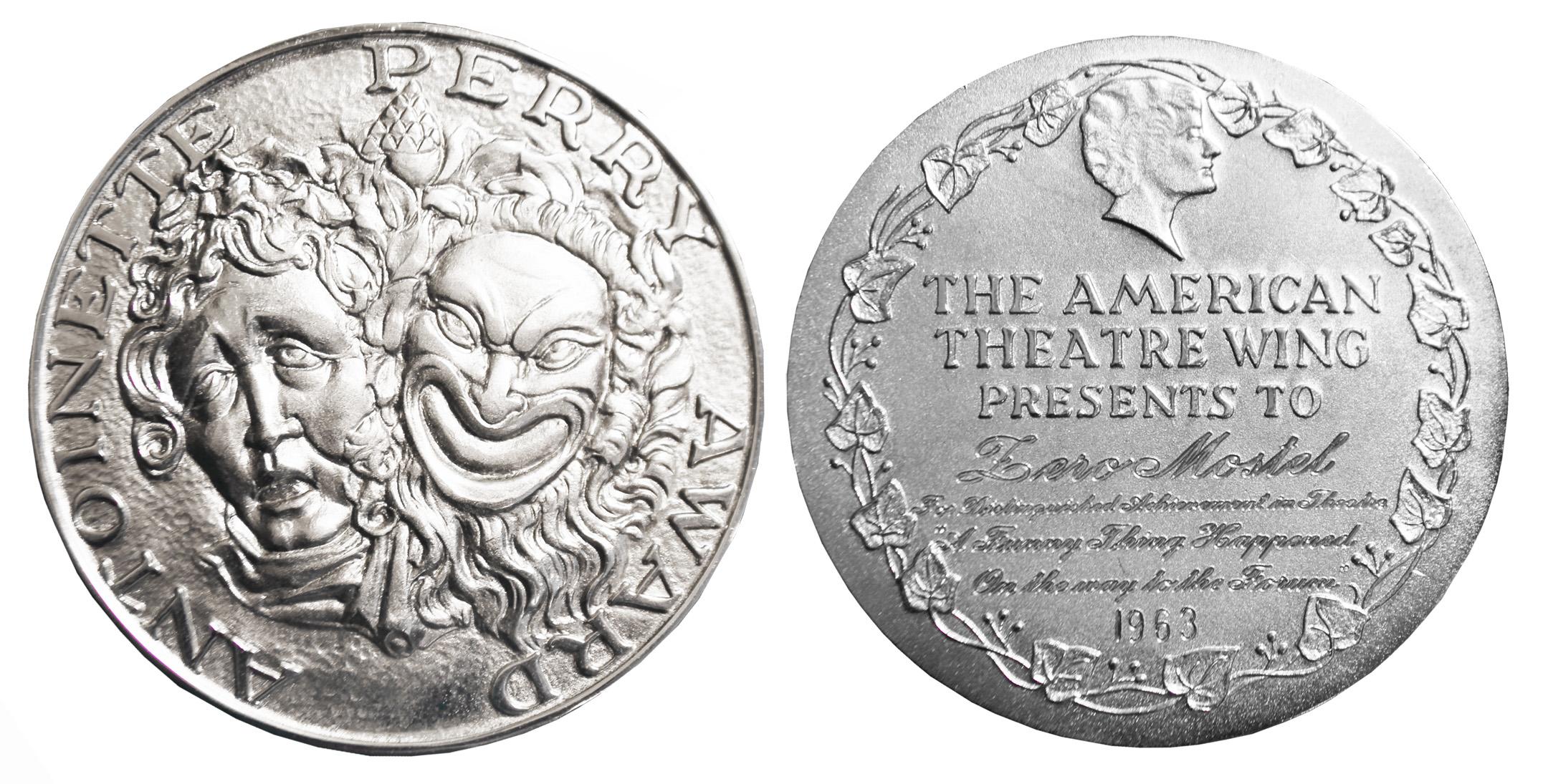 Tony Award For Sale Movie Memorabilia Theater Memorablia