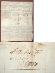 george washington autograph