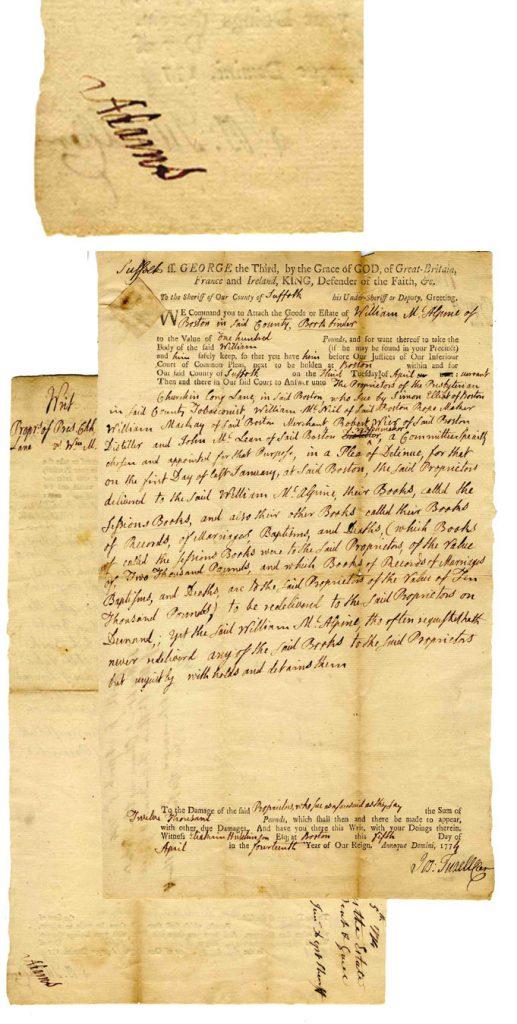 John Adams Autograph