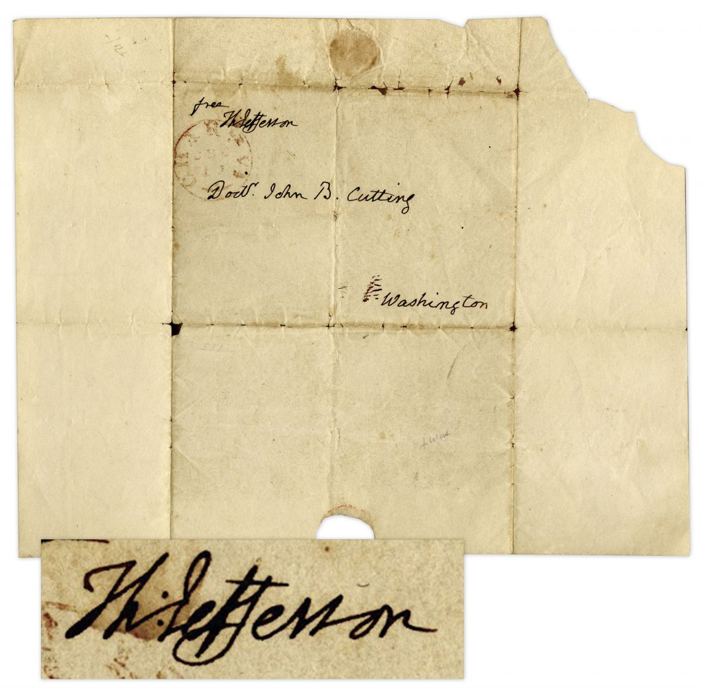 Thomas Jefferson Autograph