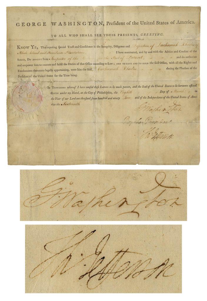 Thomas Jefferson Autograph