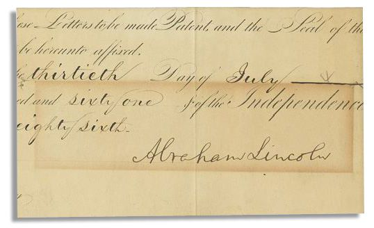Free Appraisal For A Abraham Lincoln Autograph At Nate D Sanders