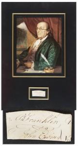 Benjamin Franklin 45349