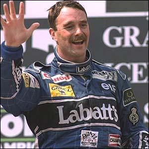 nigel-mansell-1992 Formula 1