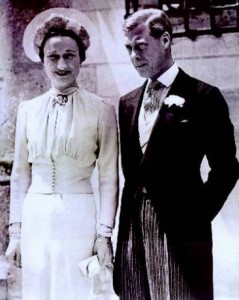 the-duke-and-duchess-of-windsor-on-their-wedding-day The Duke and Duchess of Windsor
