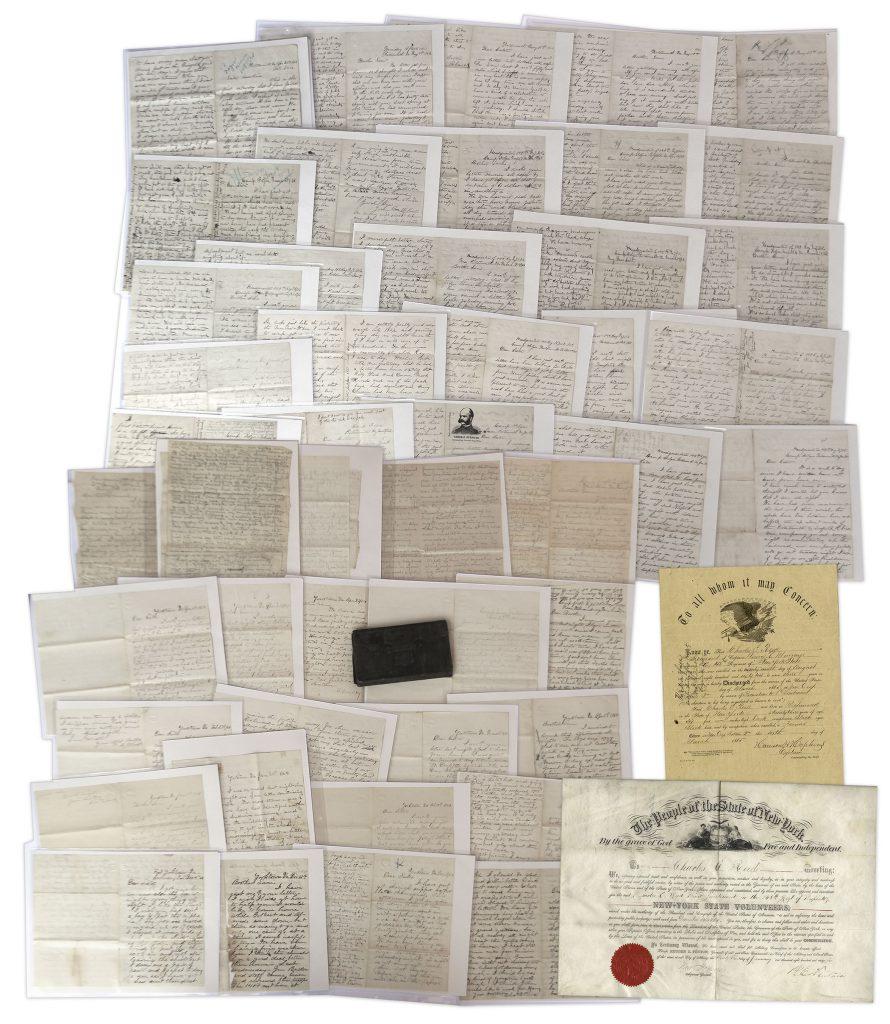 Civil War Letter Auction