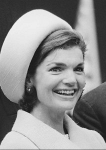Jacqueline-Kennedy-in-pillbox-hat Jacqueline Kennedy Memorabilia