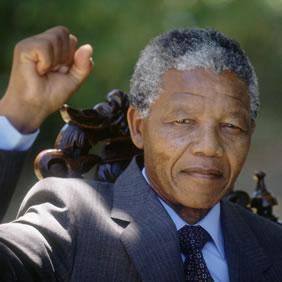 Nelson Mandela on Day After Release Nelson Mandela