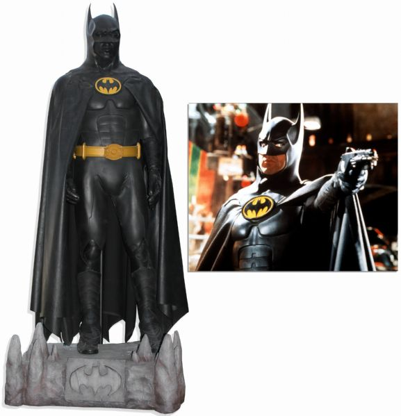 Batman Memorabilia Auction Sells Batsuit For 37 500