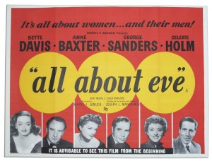 All About Eve Movie Poster Celebrity Memorabilia