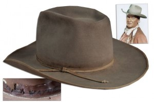 John Wayne Hat Auction Memorabilia