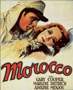 morocco (1930) Marlene Dietrich Auction